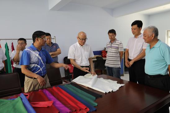 张万顺一行赴河北辛集皮革院所属企业调研并指导工作