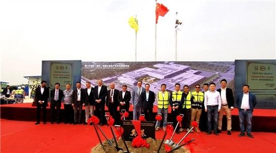 海诚股份承接西门子数控生产和研发基地项目正式破土动工