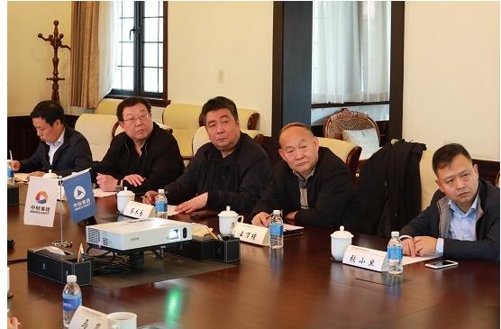 中轻集团蔡木易副总经理一行莅临海诚股份调研指导